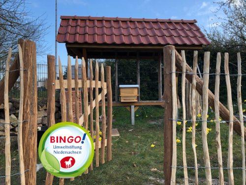 Bingo-Umweltstiftung fördert unsere Schulimkerei!